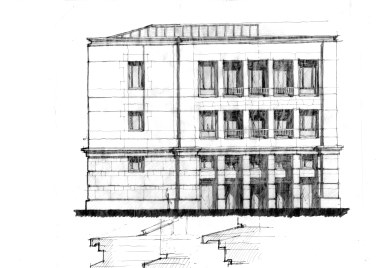 Entry facade development