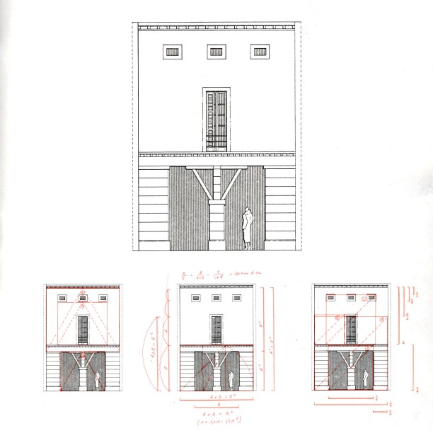 Krier's original 1980 facade - The Casa Veneziana