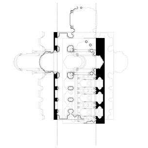 Expanding and contracting form at Palladio's San Giorgio Maggiore and Il Redentore