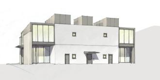 Alternative rear facade