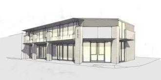 Alternative corner facade