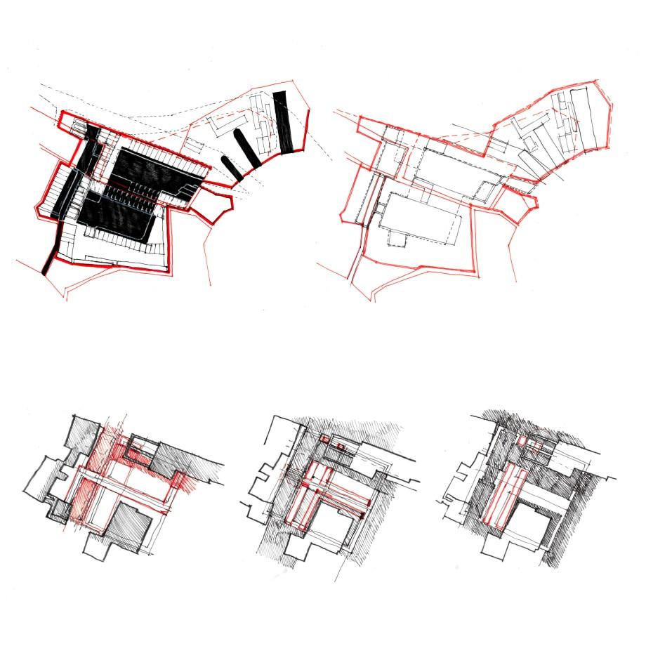 Studies of the site