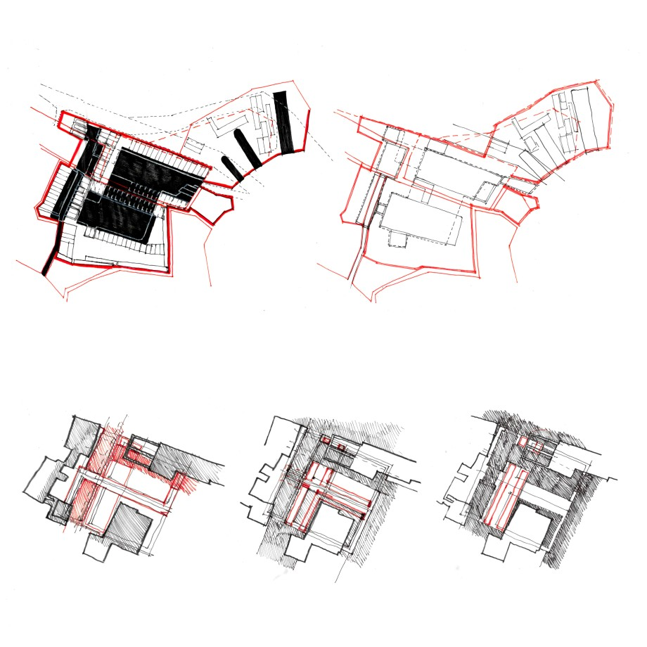 Studies of the site