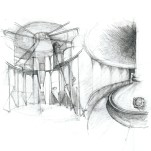 Study of the brewing architecture in perspective