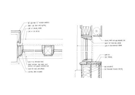 Proposed wood window system.